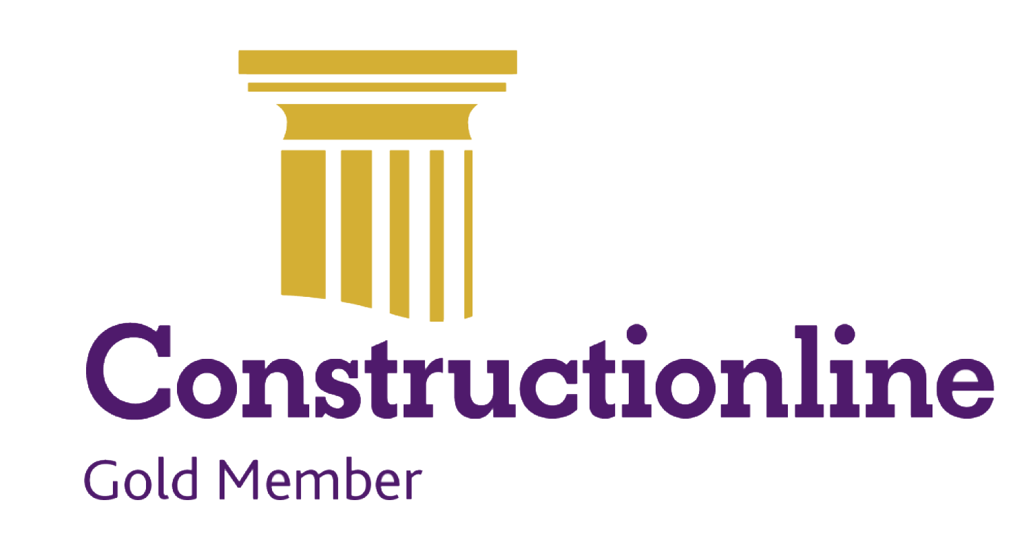 Construction Line Gold accreditation logo