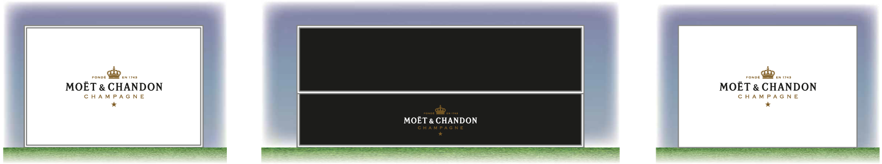 mote and chandon design and graphics