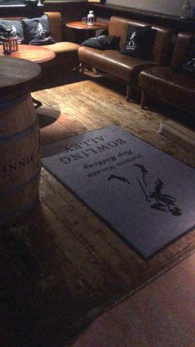 bespoke floor mat