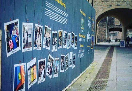 hoarding board signage edinburgh