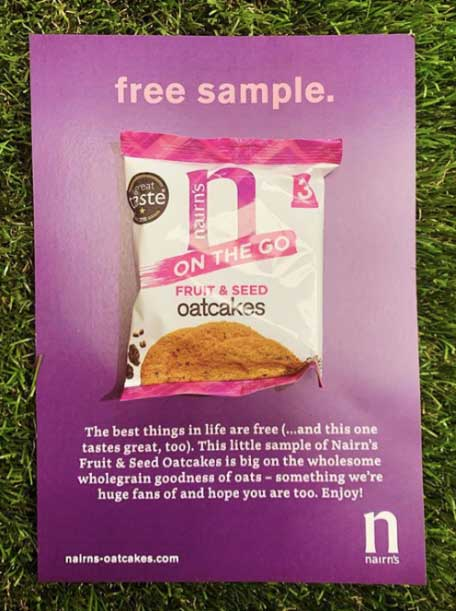 sample printed packaging