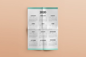 printed wall planners calendars